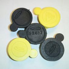 Пломбы на счетчик СГМН – под заказ с номером и различных цветов.
